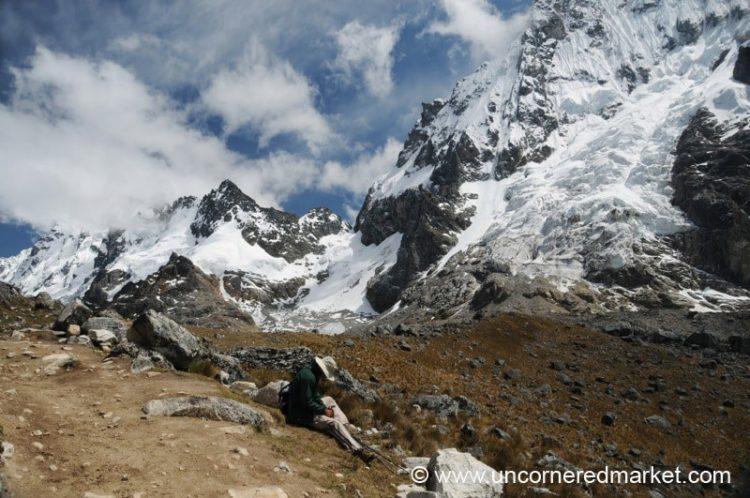 Taking a Break - Day 2 of Salkantay Trek, Peru
