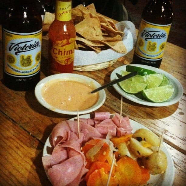 Oaxaca Food, Beer Snacks
