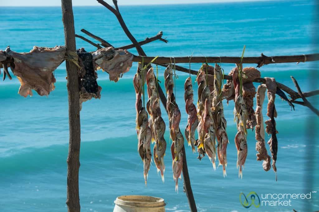 Haitian Food, Dried Fish