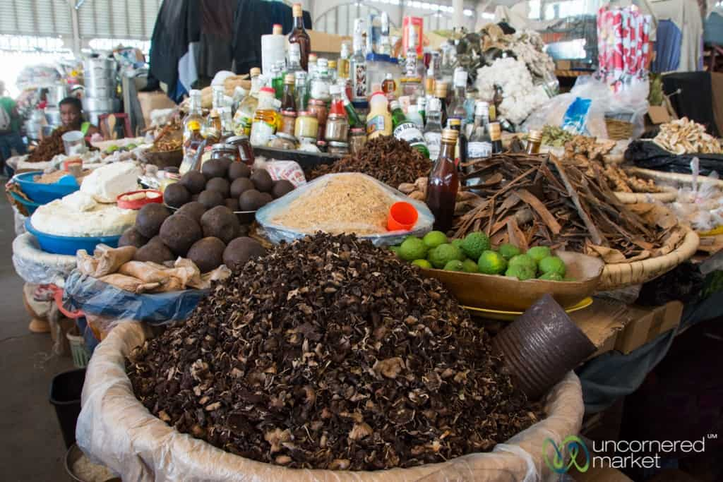 Haitian food and markets