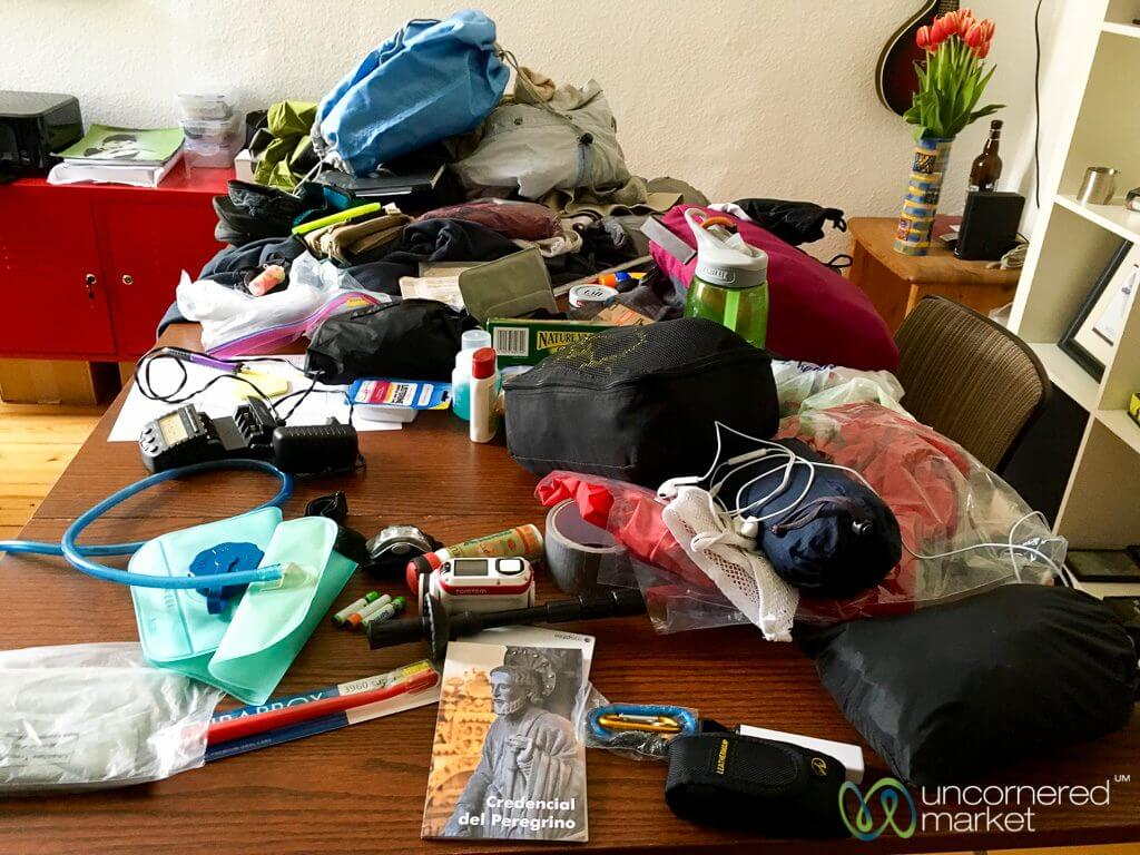 Camino packing
