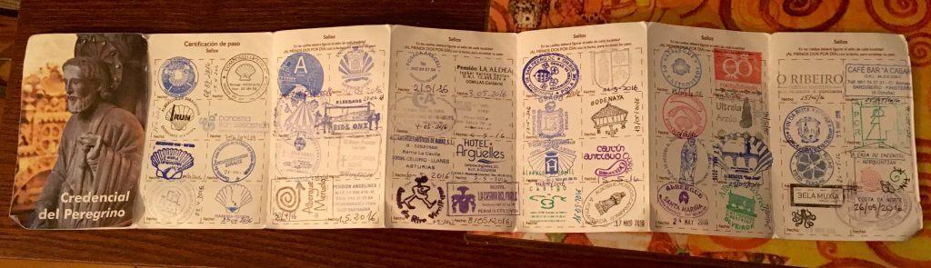 Camino Pilgrim Passport