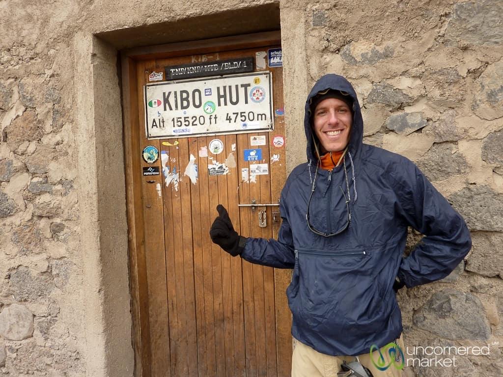Climbing Kilimanjaro, Kibo Hut