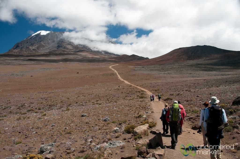 Climbing Kilimanjaro, Marangu Route Day 3