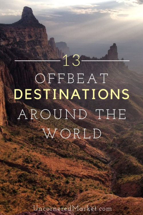 Offbeat Travel Destinations