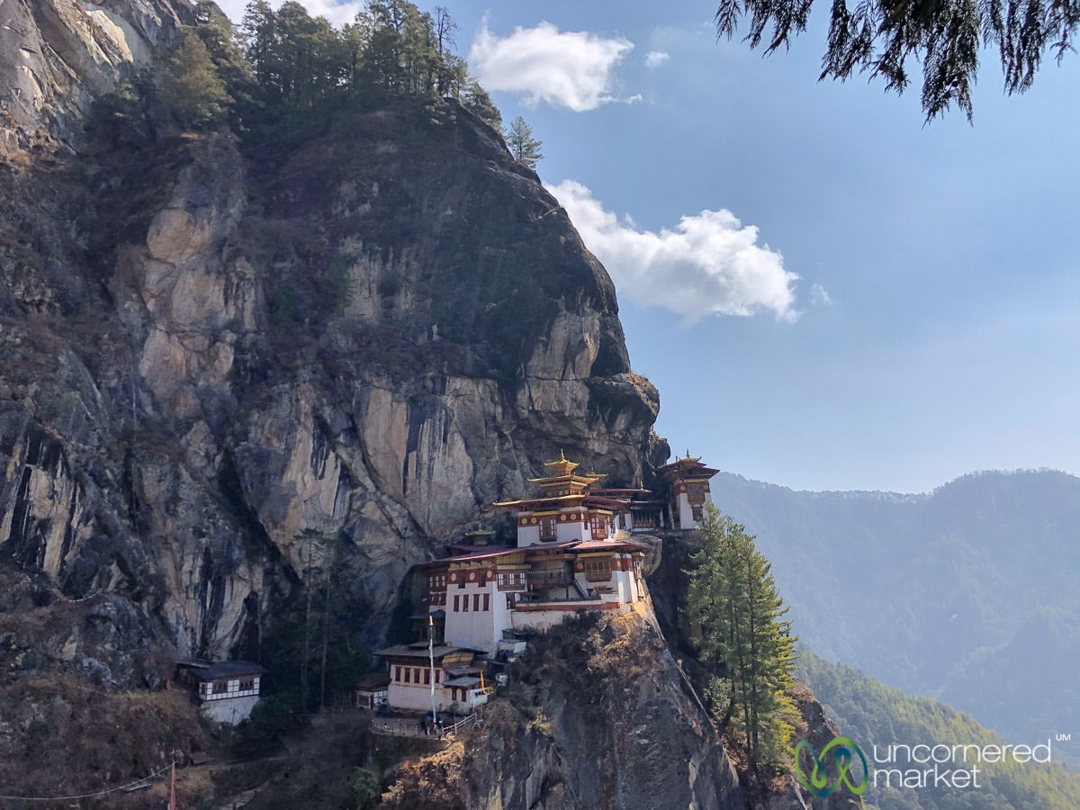 Bhutan Travel, Tiger's Nest on G Adventures Tour