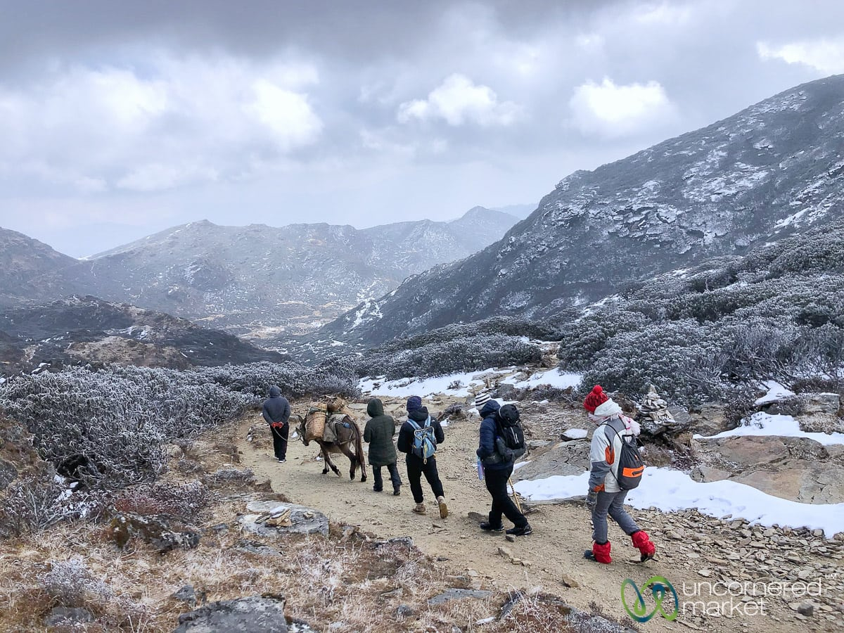 Druk Path Trek in Winter, Bhutan