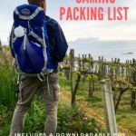 Camino Packing List with Downloadable PDF